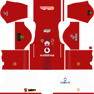 Al Ahly SC Kits 2017/2018 Dream League Soccer