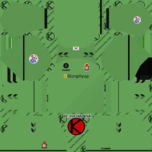 Gyeongnam FC Goalkeeper ACL Away Kit