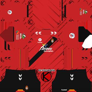 Gyeongnam FC Kits 2019/2020 Dream League Soccer