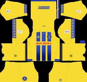 Pahang FA Fila Kits 2019/2020 Dream League Soccer
