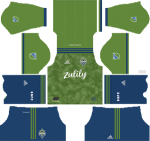 Seattle Sounders FC Kits 2019/2020 Dream League Soccer