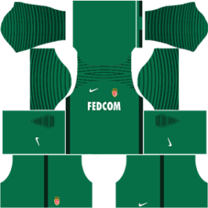 AS Monaco FC Goalkeeper Home Kit