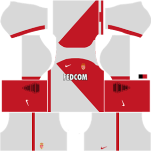 AS Monaco FC Kits 2016/2017 Dream League Soccer