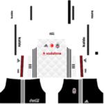 Besiktas JK Kits 2017/2018 Dream League Soccer