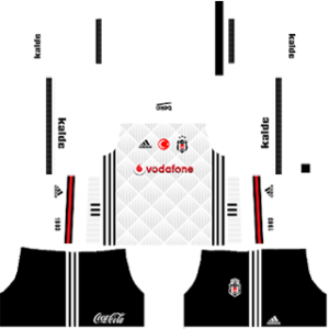 Besiktas JK Kits 2017/2018 Dream League Soccer