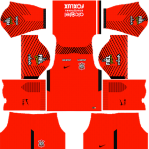 Corinthian F.C. Goalkeeper Away Kit
