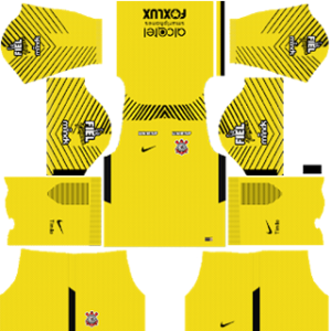 Corinthians Goalkeeper Home Kit