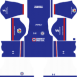 Cruz Azul Kits 2017/2018 Dream League Soccer