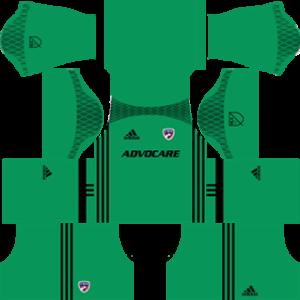 FC Dallas Goalkeeper Home Kit