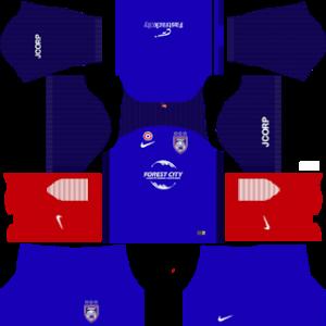 Johor Darul Takzim Kits 2017/2018 Dream League Soccer