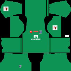 Kerala Blasters Goalkeeper Away Kit
