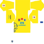 Kerala Blasters FC Kits 2016/2017 Dream League Soccer
