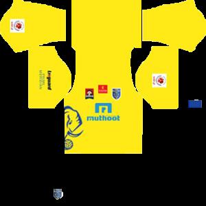 Kerala Blasters FC Kits 2016/2017 Dream League Soccer