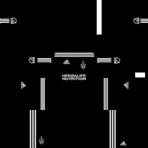 LA Galaxy Goalkeeper Home Kit