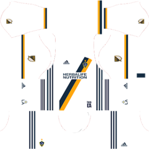 LA Galaxy Kits 2017/2018 Dream League Soccer