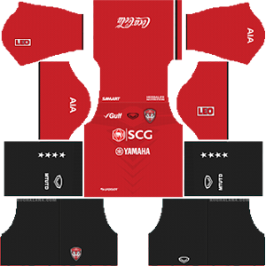Muangthong United Kits 2019/2020 Dream League Soccer