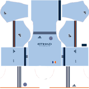 New York City FC Kits 2017/2018 Dream League Soccer