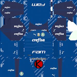 Palmeiras Goalkeeper Home Kit