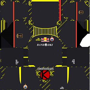 Persija Jakarta Goalkeeper Home Kit (Piala Presiden)