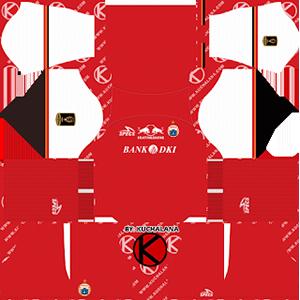Persija Jakarta Home Kit (Piala Presiden)
