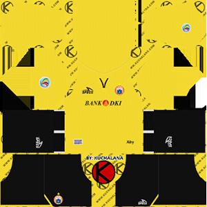 Persija Jakarta AFC Away Kit