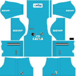 Santos FC Goalkeeper Home Kit