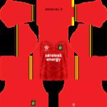 Sarawak FA Kits 2017/2018 Dream League Soccer