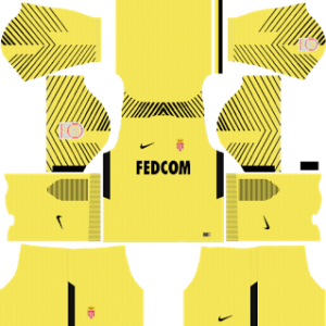 AS Monaco FC Goalkeeper Away Kit
