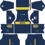 Boca Juniors Kits 2017/2018 Dream League Soccer