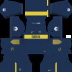 Boca Juniors Kits 2017/2018 Dream League Soccer
