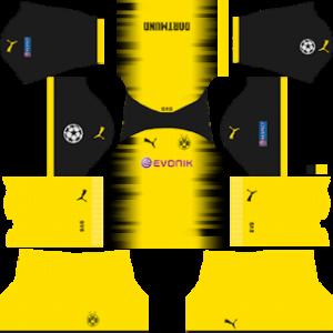 Borussia Dortmund International (UCL) Kits
