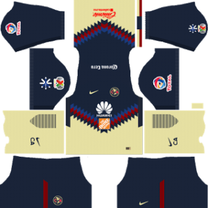 Club America Kits 2017/2018 Dream League Soccer