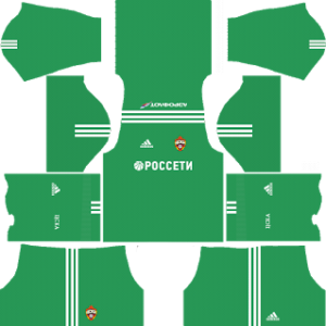 CSKA Moscow Goalkeeper Home Kit