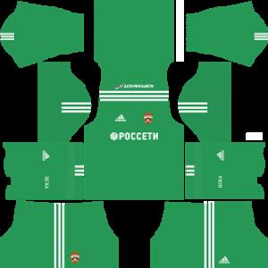 CSKA Moscow Goalkeeper Home Kit
