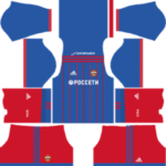 CSKA Moscow Kits 2017/2018 Dream League Soccer