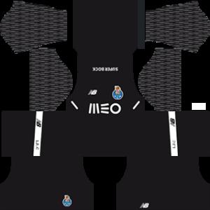 FC Porto Goalkeeper Home Kit