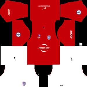Johor Darul Takzim FC Away Kit (White Short)