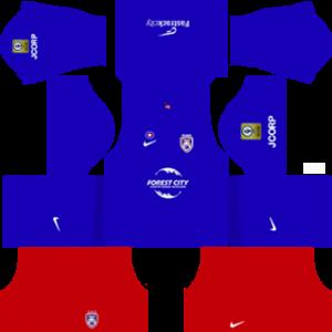 Johor Darul Takzim Kits 2016/2017 Dream League Soccer
