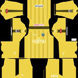 Kawasaki Frontale FC Goalkeeper Away Kit