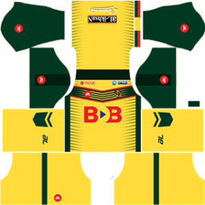 Kedah FA Kits 2017/2018 Dream League Soccer