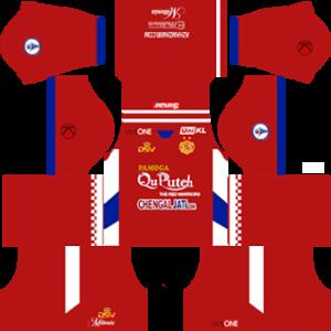 Kelantan FA Home Kit (Red)