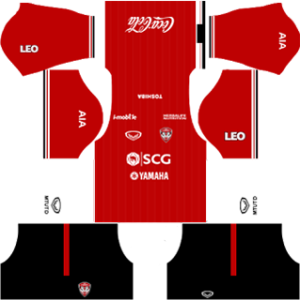Muangthong United Kits 2017/2018 Dream League Soccer