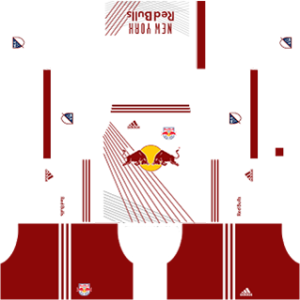 New York Red Bulls kits 2017/2018 Dream League Soccer