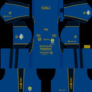 Persib Bandung Kits 2017/2018 Dream League Soccer