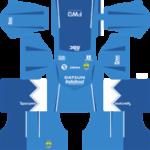 Persib Bandung Kits 2016/2017 Dream League Soccer