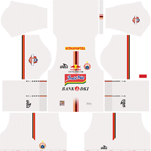 Persija Jakarta Away Kit (Indonesia Liga 1 2019)