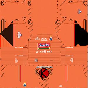 Persija Jakarta Third Kit (Indonesia Liga 1 2019)