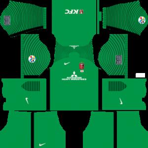Urawa Red Diamonds AFC Goalkeeper Home Kit