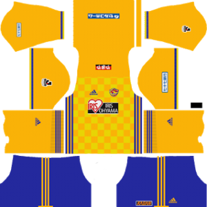Vegalta Sendai Kits 2017/2018 Dream League Soccer