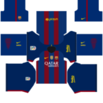 Barcelona Special Kits 2015 Dream League Soccer
